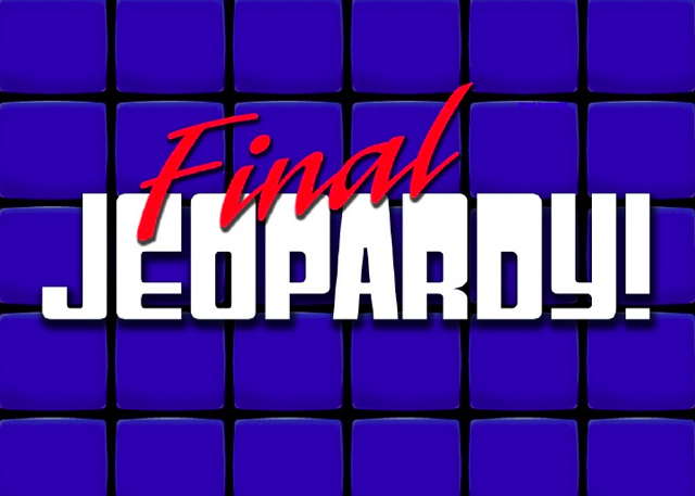 FINAL JEOPARDY PART 1: Production Facts - Questions you
