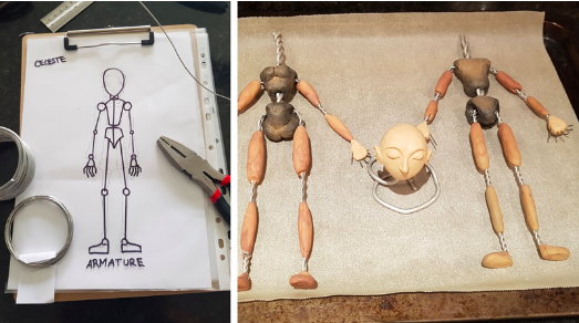 PRODUCTION DESIGN IN THE WORLD OF STOP MOTION: Part 1 - Crossing the