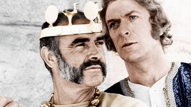 """Sean Connery, left, and Michael Caine in """"The Man Who Would be King."""""""