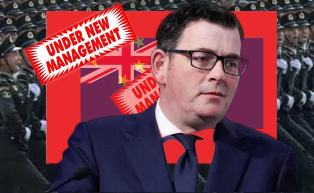 ANDREWS SIGNS VICTORIA UP TO CHINA'S ONE BELT, ONE ROAD IN GREATEST ACT OF  TREASON